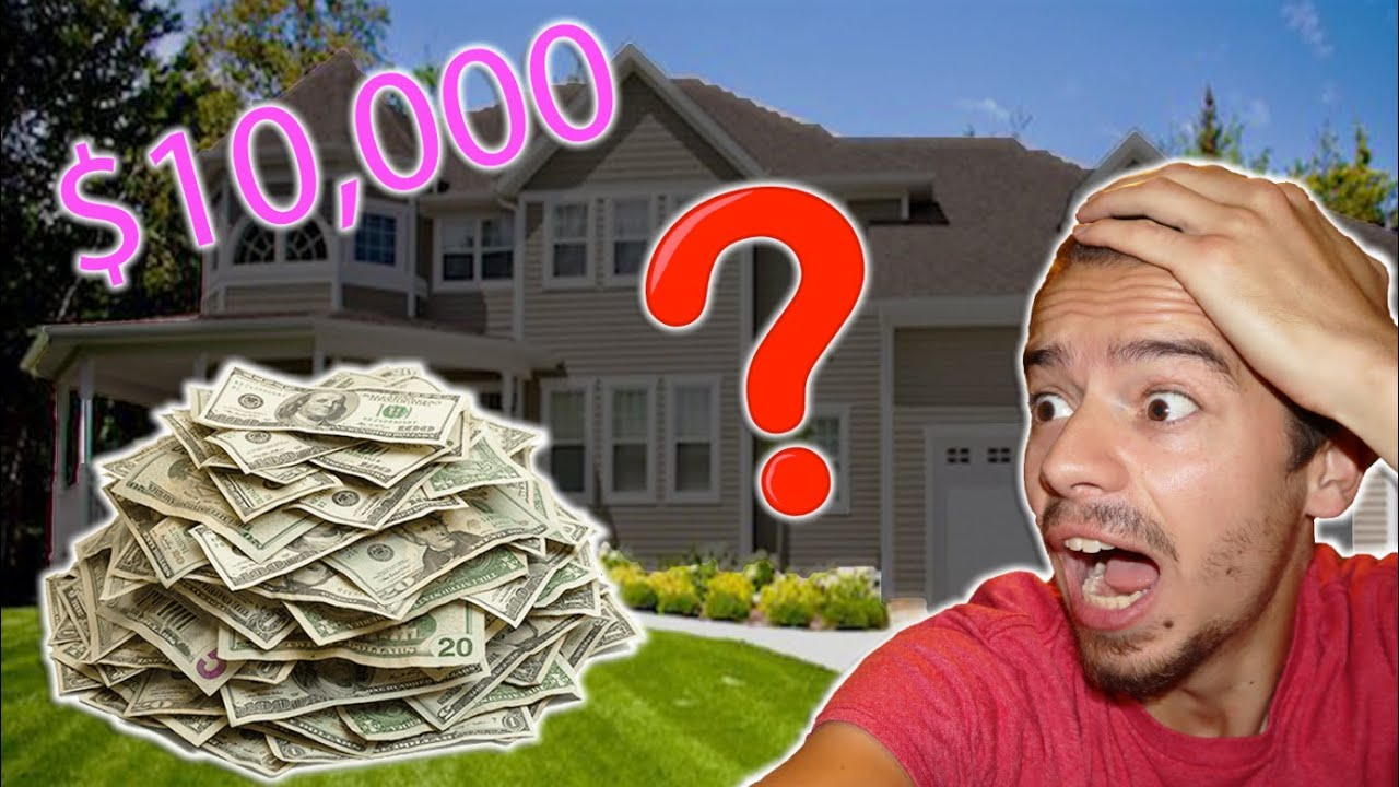 I Broke into a HOUSE And Left $10,000