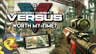 "Is ""Modern Combat Versus"" Worth My Time?"