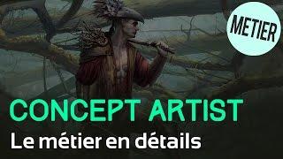 Le métier de Concept Artist en détails