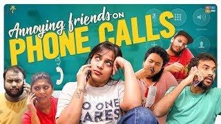 Annoying Friends On Phone Calls || Mahathalli || Tamada Media