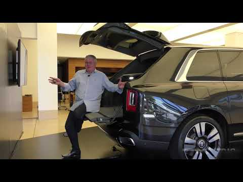 a tour through Rolls Royce's Cullinan interior and exterior