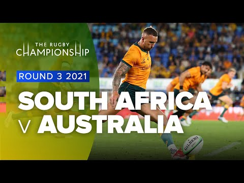 The Rugby Championship | South Africa v Australia - Rd 3 Highlights