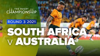 The Rugby Championship   South Africa v Australia - Rd 3 Highlights