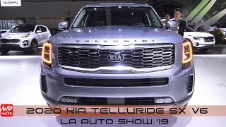 2020 KIA Telluride SX V6 - Exterior Walkaround - LA Auto Show 2019