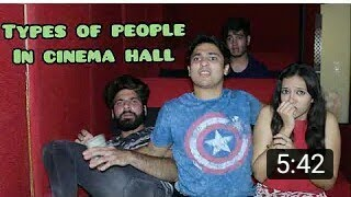 Types of people in cinema Hall Harsh Beniwal very Funny video😂😂😂😂😂