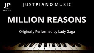 Million Reasons by Lady Gaga (Piano Accompaniment)
