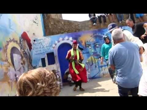 Assilah, Morocco - tourist gig near the waterfront, 17/Apr/2014