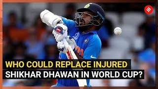 World Cup 2019: Shikhar Dhawan Fractures Thumb, World Cup Participation In Doubt
