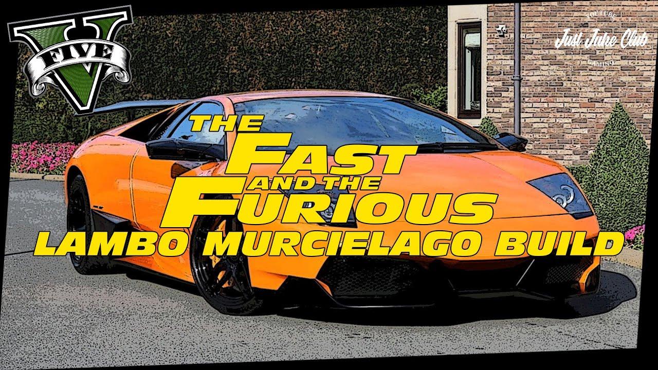 FATE OF THE FURIOUS LAMBORGHINI MURCIELAGO CUSTOM CAR ...