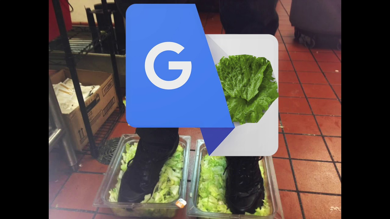 Burger King Foot Lettuce But It S Google Translated Youtube