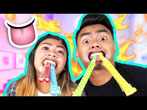 WHAT THAT MOUTH DO CHALLENGE! (ft. My Sister)
