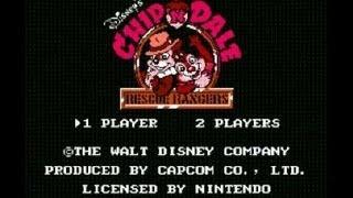 Chip N Dale Rescue Rangers NES Walkthrough HQ High Quality
