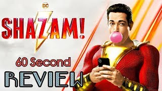 Shazam! 60 Second Review (NO Spoilers) | CinemaWins