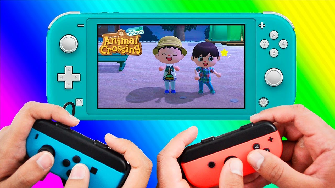 2 Player Co-OP for Animal Crossing New Horizons on Nintendo Switch Lite