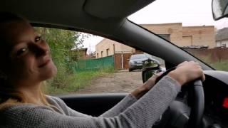 Сдача экзамена в ГИБДД г. Пермь. Обучение разворотам на двухполосной дороге
