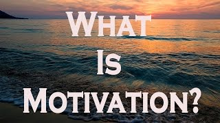 What Is Motivation? - Motivational Video
