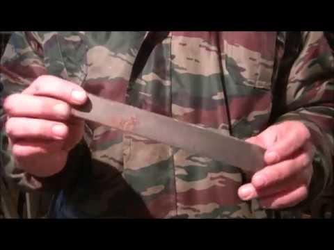 видео: Как точить ножи на рубанке, фуганке.  У Вас дома есть приспособление для заточки!!!