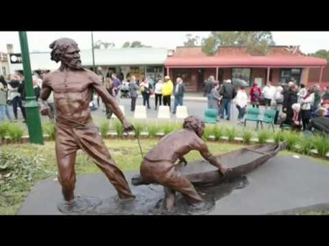 Wiradjuri heroes honoured with sculpture in Gundagai