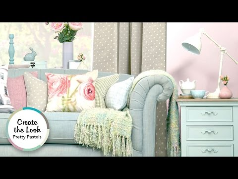 Pretty Pastels Living Room