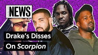 �������� ���� All Of Drake's Disses You Might've Missed On 'Scorpion' | Genius News ������