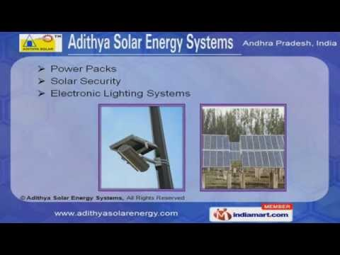 Solar Street Lighting LED by Adithya Solar Energy Systems, Hyderabad