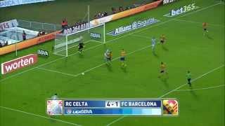 Resumen de Celta de Vigo (4-1) FC Barcelona