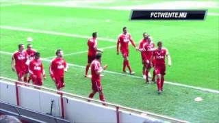 AMAZING GOAL THEO JANSSEN   FC TWENTE 2  PSV 0 Eredivisie Speelronde 29