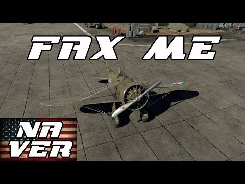 Fax Me (NA Version) - P-26A-34 M2 Peashooter War Thunder Gameplay (Comedy Out-take)