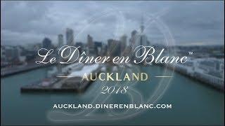 Diner en Blanc - Auckland 2018, Official Video
