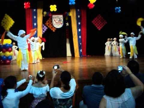 "Baile Popurri Venezolano 2do Grado EBP ""David Ausubel"""