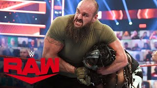 Drew McIntyre & Braun Strowman vs. MACE & T-BAR: Raw, April 19, 2021