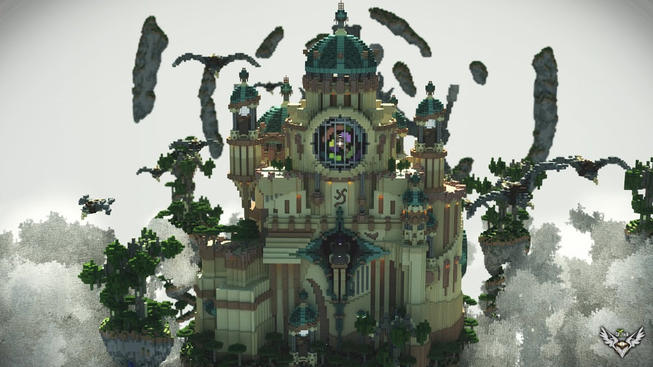 How To Build A Medium Sized Castle In Minecraft