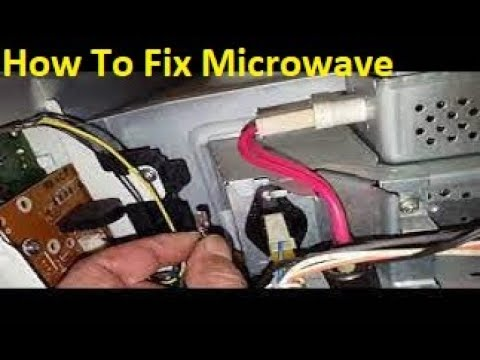 how to fix microwave panasonic stops few seconds when starts