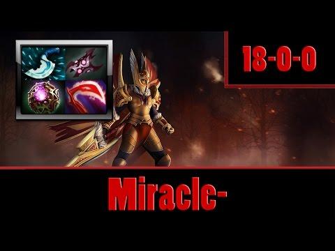 Dota 2 - Miracle- plays Legion Commander Mid 19 MIN GG, 1 MIN = 1 KILL!