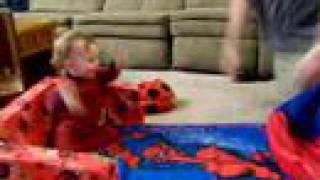 Bouncing Baby Bean Bag Boy