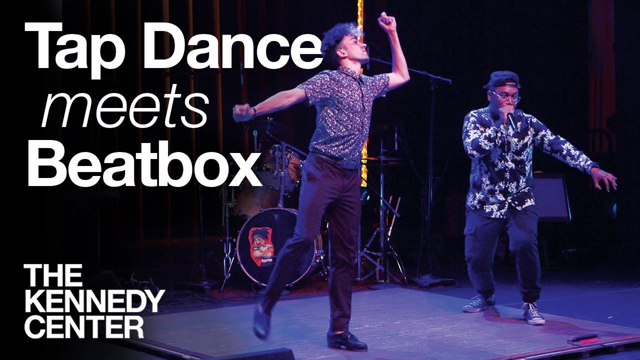 Tap Dance Meets Beatbox - LIVE IMPROV! | Caleb Teicher & Christopher Celiz