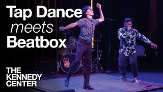 Tap Dance Meets Beatbox - LIVE IMPROV! | DECLASSIFIED Preshow