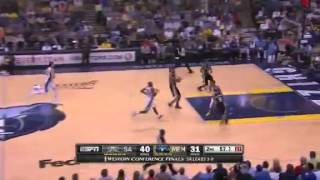 San Antonio Spurs Vs Memphis Grizzlies - NBA Western Conference Finals 2013 Game 4 - Full Highlights
