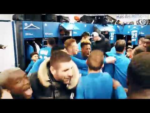 la joie dans le vestiaire après #rcsalosc en coupe de la ligue bkt