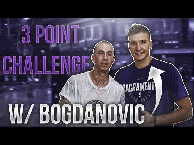 TRICKY VS BOGDAN BOGDANOVIC - 3 POINTS CHALLENGE