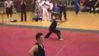 Wushu Competition 2000 in Beijing
