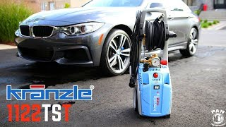 BEST PRESSURE WASHER FOR WASHING CARS !!!  Kranzle 1122TST