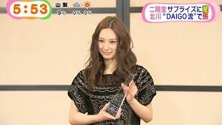 2015年 エランドール賞 新人賞受賞 授賞式、北川景子.