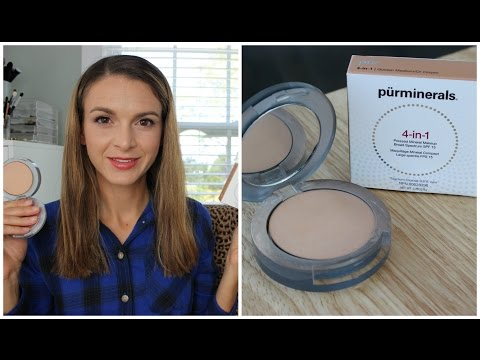 2 Minute Powder Foundation Review : Pur Minerals