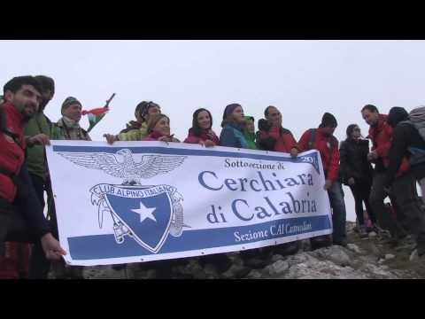 Con Francesco Bevilacqua e il CAI di Cerchiara di Calabria da Acqua Rossa al monte Sellaro
