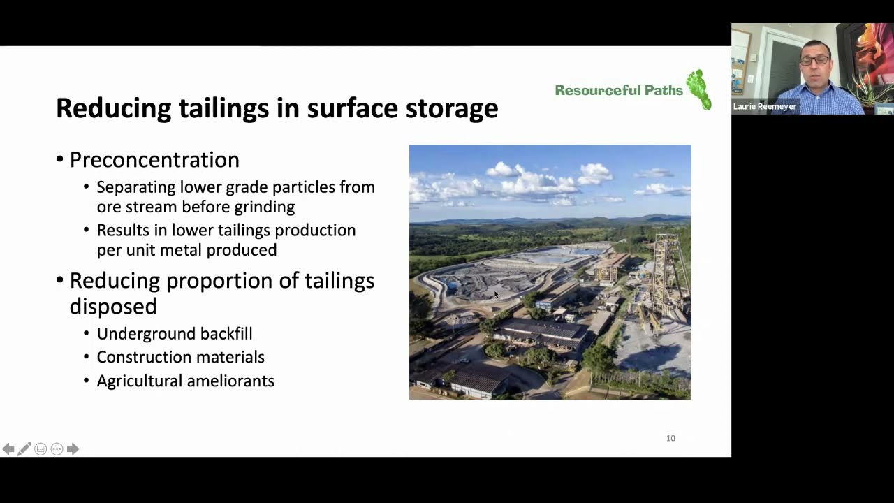 Laurie Reemeyer – Improved Tailings Management - a Prerequisite for Responsible Metal Supply