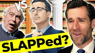 Download Lawyer Responds: John Oliver SLAPPs Back?  (Real Law Review) Mp3 and Videos