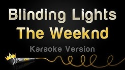 The Weeknd - Blinding Lights (Karaoke Version)