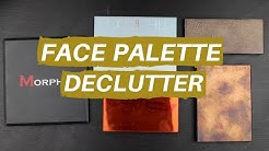 FACE PALETTE DECLUTTER & COLLECTION   Hannah Louise Poston   MY BEAUTY BUDGET