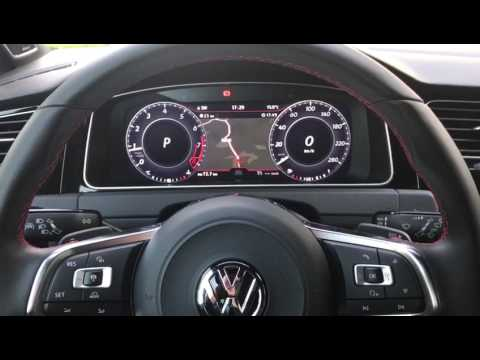vw golf 7 facelift 2017 mit active info display youtube. Black Bedroom Furniture Sets. Home Design Ideas